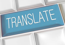 "napis ""translate"""