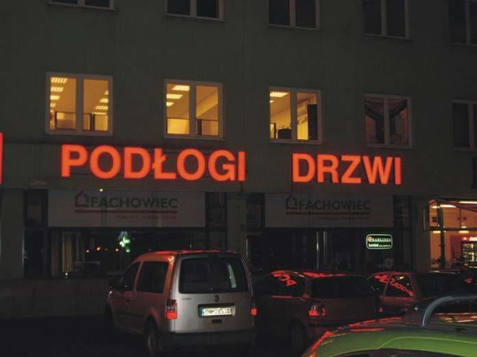Litery przestrzenne Wrocław