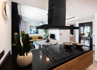 Okap nadwyspowy – estetyczne rozwiązania do kuchni z wyspą